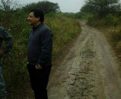 La comuna de Beltrán ejecuta un plan de mejoras y mantenimiento de caminos rurales