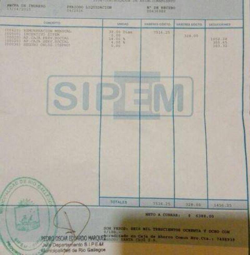 Delegado del SIPEM denunció que los quieren transferir y que dependan de Nación