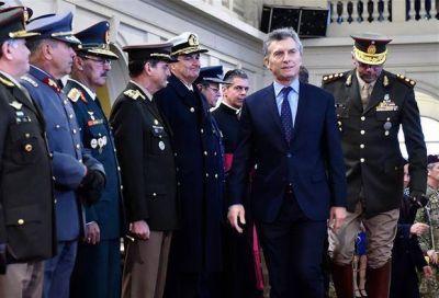 Renovados guiños a las Fuerzas Armadas con César Milani como inesperado testigo