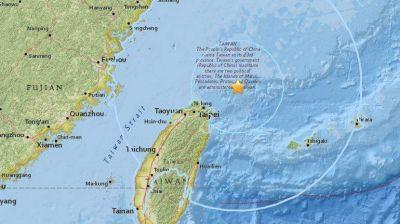 Un terremoto de 7,2 grados sacudió el noreste de Taiwán