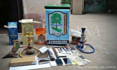 Narcomenudeo: en Las Lomitas, detuvieron a un hombre y secuestraron un kilo de droga