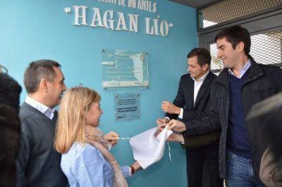 Se realiz� el acto de traspaso del Jard�n 905 y se anunci� la construcci�n de un nuevo edificio