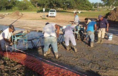 Se desplomó la construcción en el Chaco