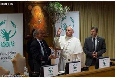 El Papa Francisco clausuró el VI Congreso Mundial de Scholas