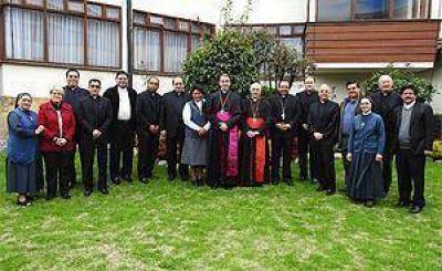 La agradable visita del Cardenal Filoni al CELAM