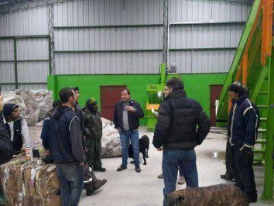 Empleados del basural que no fueron seleccionados para la planta de separación trabajarán en el Plan Barrios Limpios