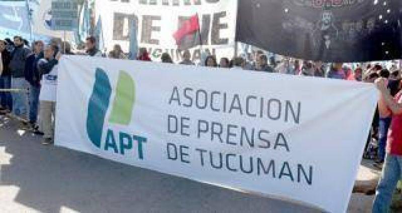 Marcha de los trabajadores de prensa: basta de despidos y precarización laboral