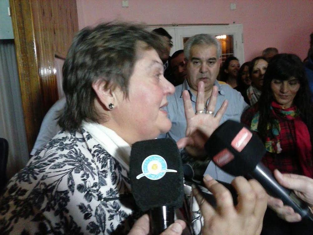 Mónica Baretta seguirá conduciendo el gremio de los municipales en Trenque Lauquen