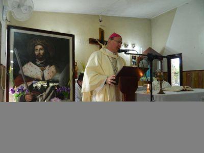 El Obispo presidió las fiestas en honor al Patrono San Fernando en el CAPE