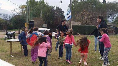 La Juventud Peronista realiza actividades barriales