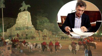 Fuerte rechazo a que Macri pueda vetar el feriado por G�üemes