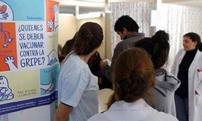 """""""Escaso"""" cupo de vacunas contra la gripe para grupos de riesgo"""
