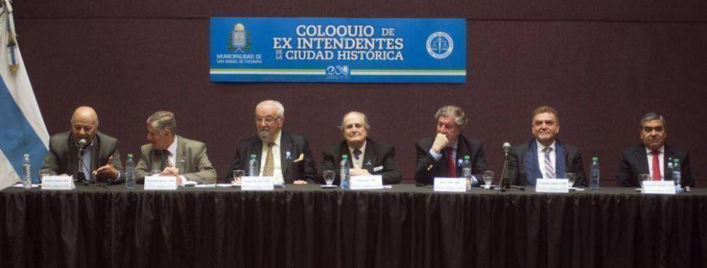 Los intendentes capitalinos se unieron para pedir por la autonomía municipal