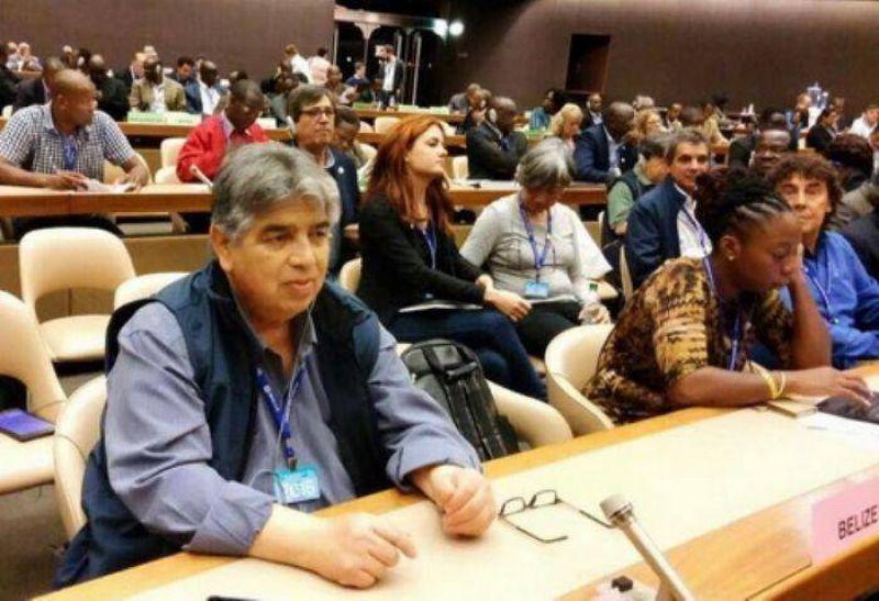 Jos� Rigane presente, junto a la CTA-A, en la 105� Conferencia Anual de la OIT
