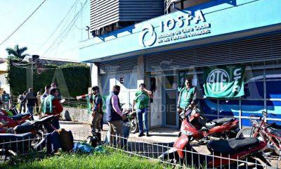 Paro total de actividades por 96 horas en IOSE Formosa