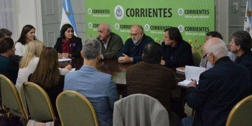 Ministros provinciales delinearon junto a representantes de Unicef proyectos sociales y educativos