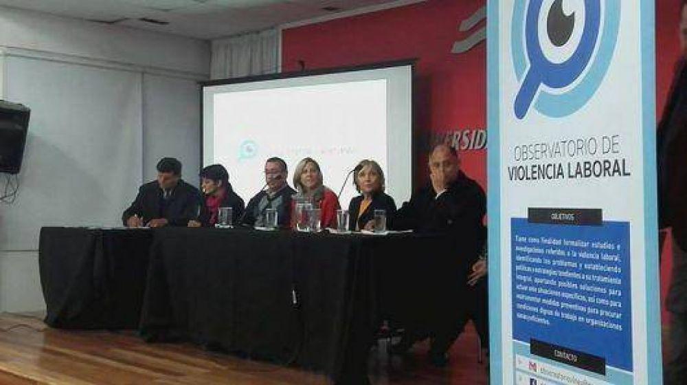Fuerte respaldo sindical en el lanzamiento del Observatorio de Violencia Laboral del NEA