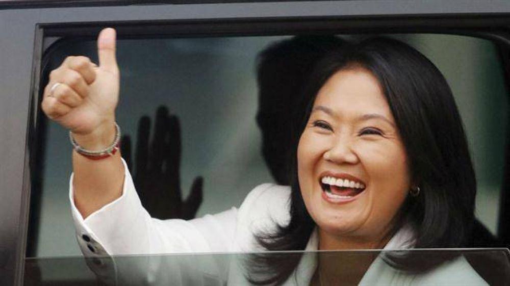 La líder de la izquierda peruana llama a votar contra Fujimori