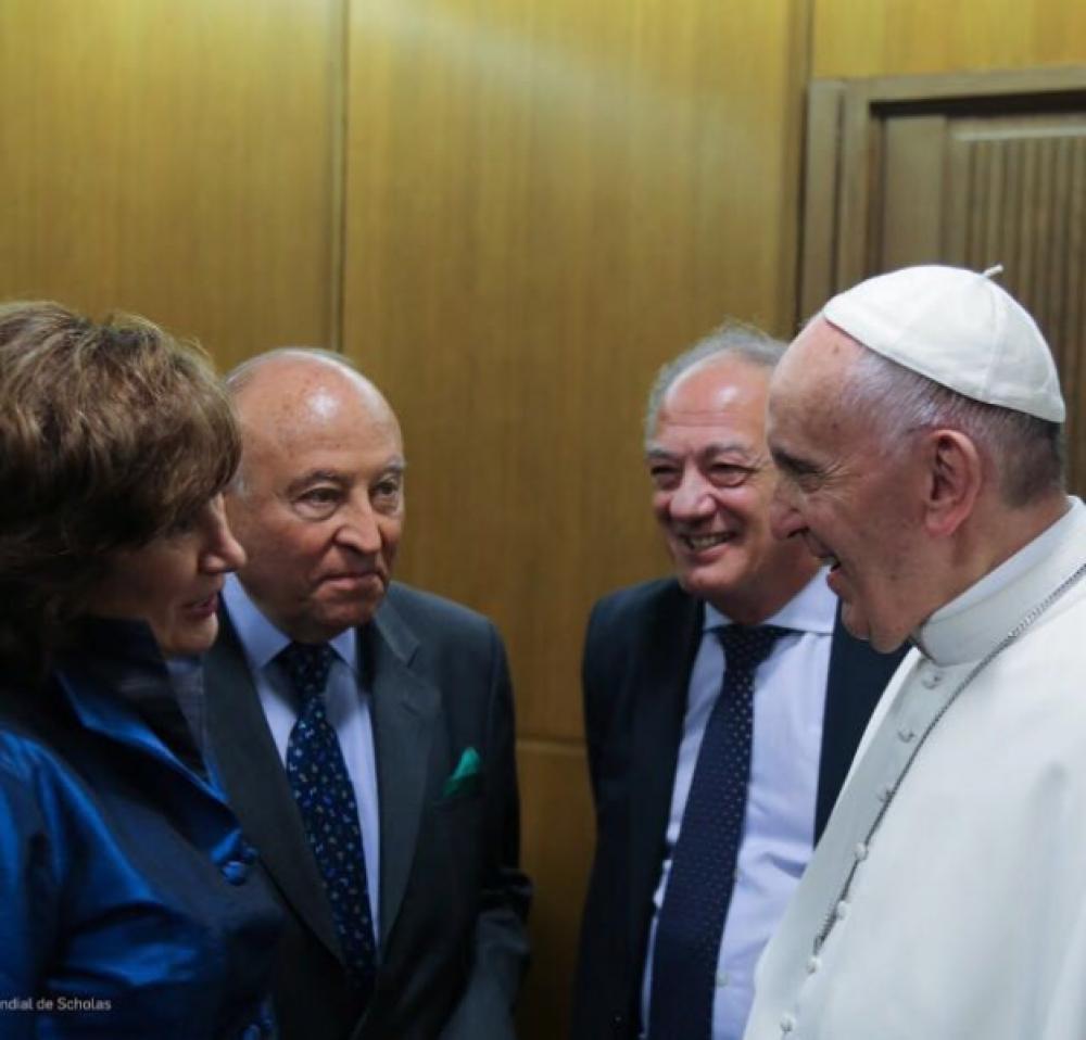 El Papa propone a una española para dirigir Scholas en Europa