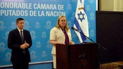 En el festejo del D�a Nacional de Israel, Dorit Shavit se despidi� de su misi�n en la Argentina