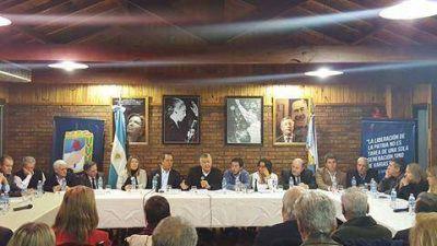 Sergio Urribarri qued� al frente de la Secretar�a General del Consejo Nacional del PJ