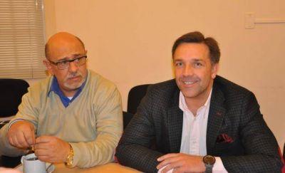El ministro Amitrano se reunió con el rector de la UNViMe
