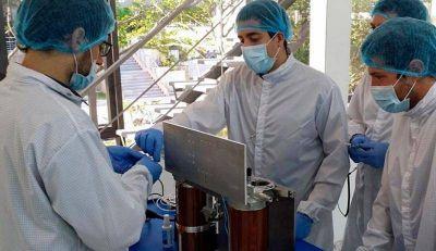 Con apoyo de INVAP, lanzaron los dos primeros nanosat�lites comerciales