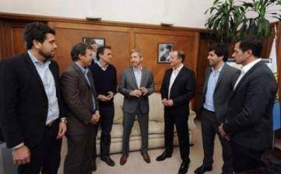 Intendentes peronistas se reunieron con Frigerio