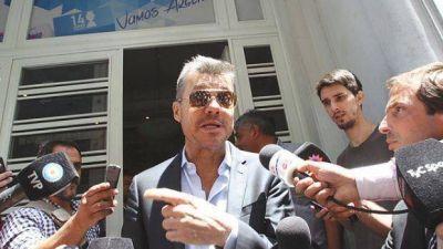 Explotó la AFA: Tinelli bajó su candidatura y Moyano ahora pelea en soledad