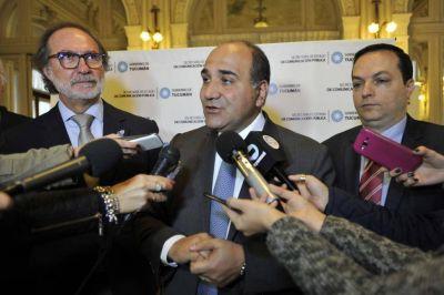 Manzur puso en duda la reforma del actual régimen electoral que pidió Macri