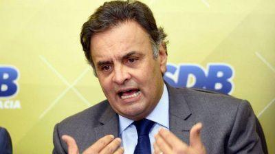 Brasil: reanudan la investigación contra el senador Aécio Neves