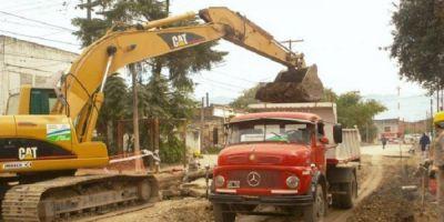 Lanzan un amplio plan de repavimentación en la Capital