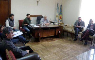 Saenz Saralegui junto a ediles recibió a referentes del ex sanatorio EMHSA