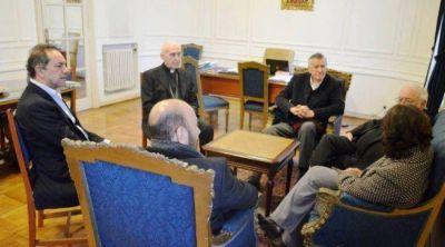 Insfran fue uno de los dirigentes del PJ que se reuni� con monse�or Jos� Arancedo