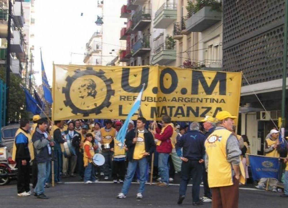 Desde la UOM afirman que hay 3 mil suspensiones en la Matanza