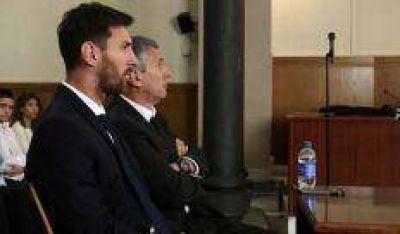 La fiscalía exime a Messi pero culpa al padre