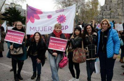 Baragiola participó de la marcha en representación del Intendente