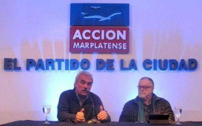 Mempo Giardinelli en el ciclo organizado por Acción Marplatense