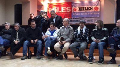 Desde la cárcel, Milagro Sala brindó un discurso para un acto del partido de D'Elía