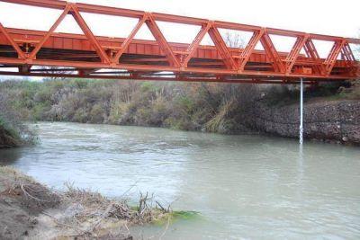 Río Atuel: Mendoza afirma que hace dos semanas está cortado en Valle Grande