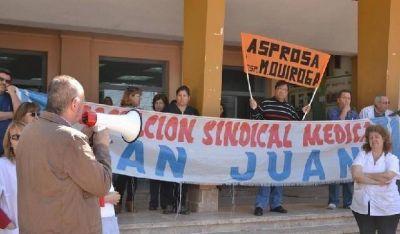 Autoridades de ASPROSA se reúnen con el gobernador Uñac
