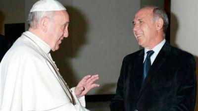 El papa Francisco, en audiencia privada con Ricardo Lorenzetti
