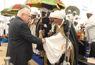 Miles de personas asistieron al homenaje a los jud�os de Etiop�a que murieron camino hacia Israel