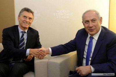 El primer ministro Binyamin Netanyahu recibi� en Israel a la Agencia Jud�a de Noticias y confirm� su visita la Argentina