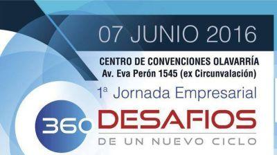 """Olavarría sede de la Jornada Empresarial """"360 Desafíos de un nuevo ciclo"""""""