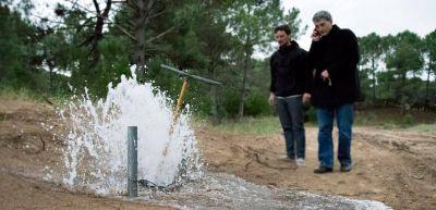 Agua corriente para los lotes de Procrear