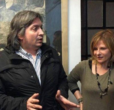 Florencia Saintout y otros referentes del FpV revisaron con Máximo Kirchner los problemas sociales más acuciantes de La Plata
