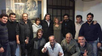 Durante el fin de semana, Máximo Kirchner visitó La Plata y reunió a los leales del FpV