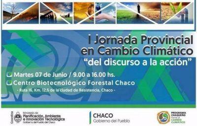 Peppo abrirá la Jornada Provincial en Cambio Climático