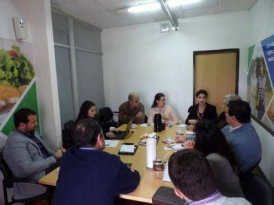 Cámara de Comercio se reunió con el Ministro de Industria y el Subsecretario de integración de políticas productivas